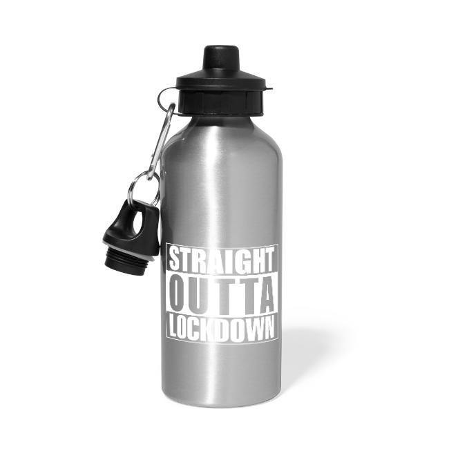 Straight Outta Lockdown Water Bottle