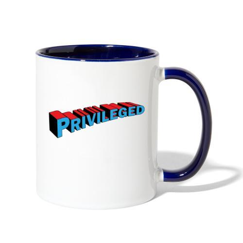 privileged mug