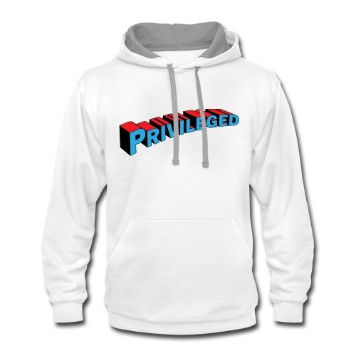 privileged hoodie